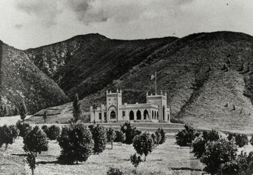 Miradero in 1904.
