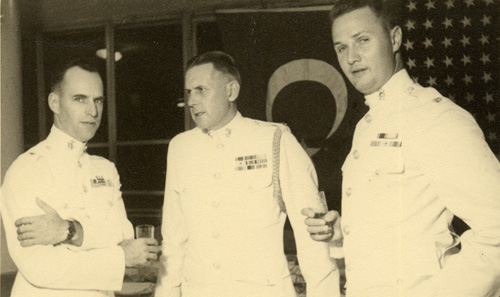 Izmir, 3 August 1948. Left to right: Piper, Hagenah, Cooper.