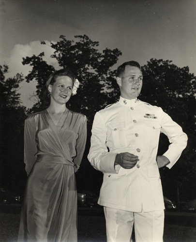 Major and Mrs. Cooper.