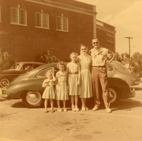 The Cooper family, May 1953.