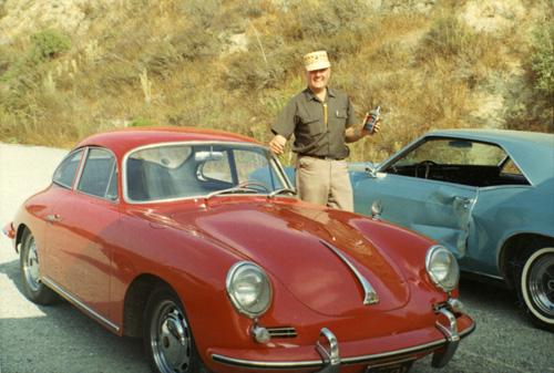 Jeff's final Porsche, his 356 SC.
