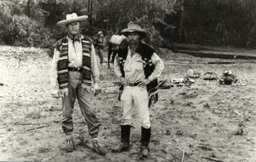 Jeff and Gene Harshbarger in Guatemala, 1966.