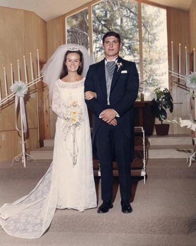 Paralee Cooper marries Bruce Edgar Heath, 22 June 1968.
