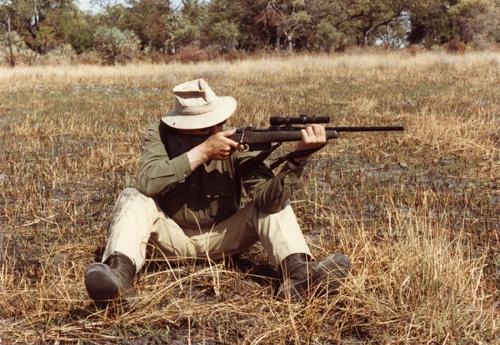 Jeff shoots pseudo-scout.