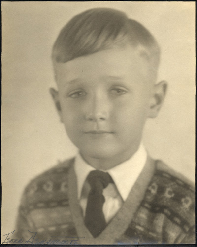 Jeff, at about kindergarten age.