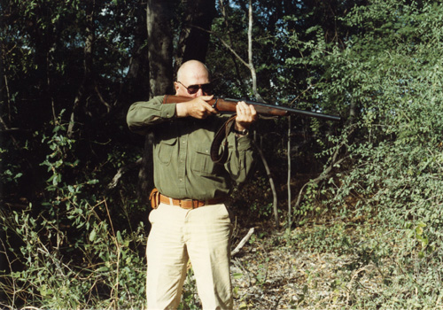 Jeff with rifle
