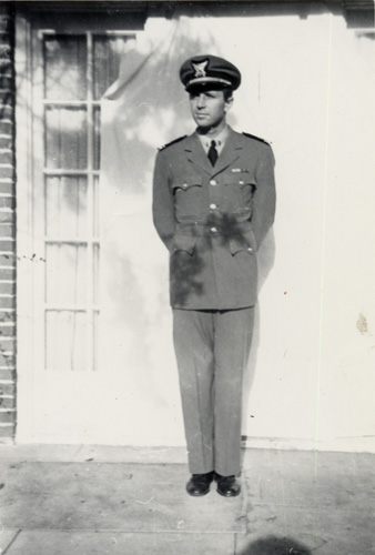 Heinie in his Coast Guard uniform, World War II
