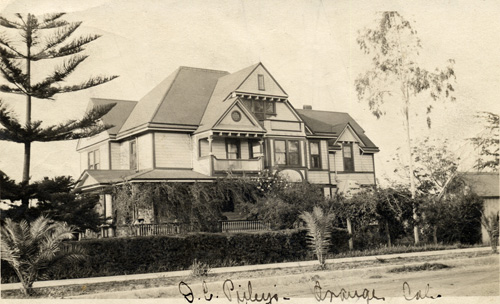 D.C. Pixley's house in Orange, California.