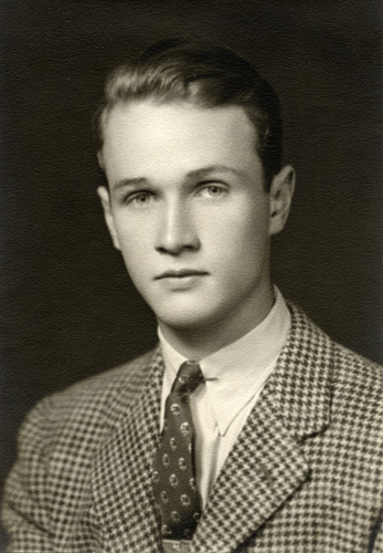 Jeff's Stanford senior picture, 1941