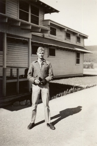 Jeff at Basic School, 1941
